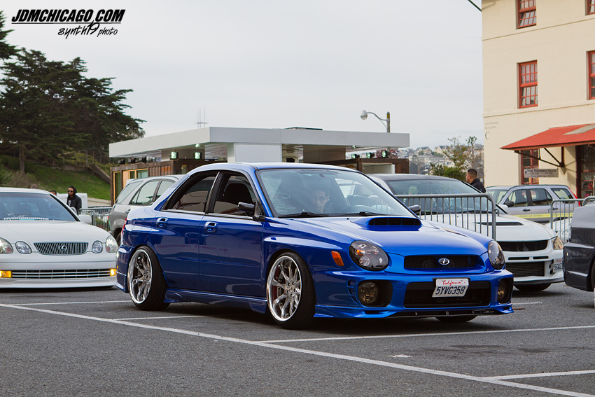 WRX with a VIP look