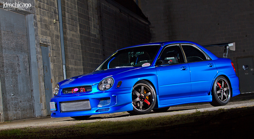 Quick Snap Jt S 2003 Subaru Wrx